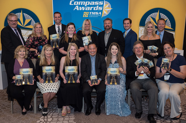 Compass Award winners